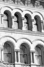 Romanesque Revival Facade