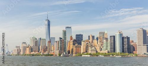 Deurstickers New York City Panoramic view of Lower Manhattan, New York City, USA.