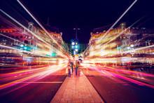 Motion Speed Light In London C...