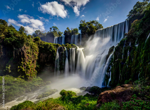 Aluminium Prints Brazil Iguazu Waterfalls Jungle Argentina Brazil