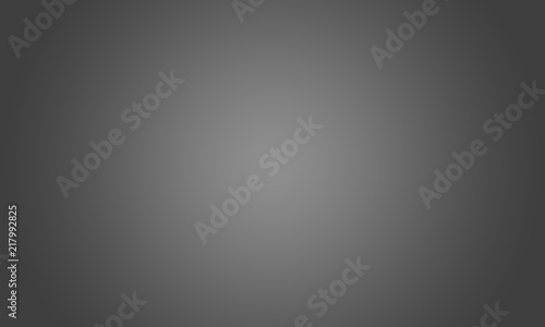 Photo  Abstract luxury blur dark grey and black gradient, used as background studio wall for display your products