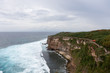Pura Gede Perancak, a prominent Hindu sea temple in Perancak, Bali, Indonesia which is situated on this cliff.