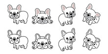 Dog Vector French Bulldog Logo...