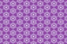 Snowflakes On Purple Sand Back...