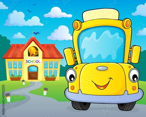 School bus thematics image 5