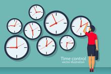 Time Control Concept. Organiza...