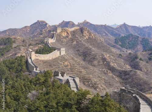 Deurstickers Chinese Muur Jinshanling Great Wall