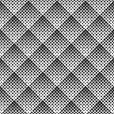 seamless monochrome geometric vector pattern. - 218038480