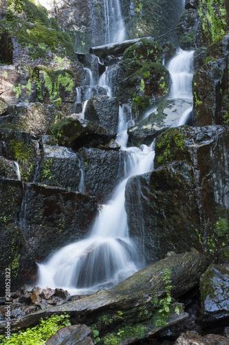 Poster Watervallen Nideck waterfall in Vosges France