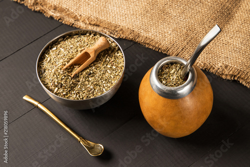yerba mate drink