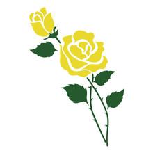 Nature Flower Yellow Rose
