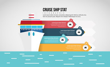 Cruise Ship Stat Infographic