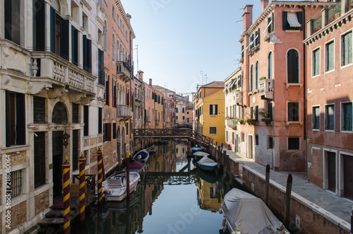 Fototapety, obrazy: Canal in Venice, Italy.