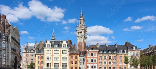 Canvas Print Lille (France) / Grand place et beffroi cci