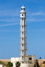 Metallic Lighthouse In Cadiz