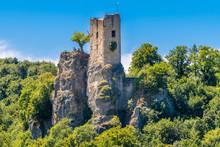 Burgruine Neideck In Der Fränkischen Schweiz