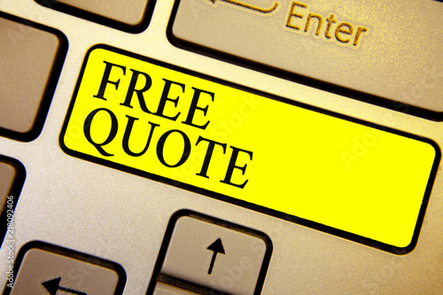 Handwriting Text Free Quote Concept Meaning A Brief Phrase That Is Usualy Has Impotant Message
