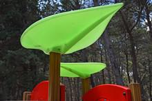 Italy, Puglia Region, Altamura,  Playground In The Woods