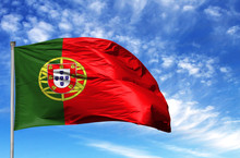 National Flag Of Portugal On A...