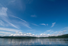 View Of Lake Champlain In Calm Water