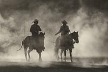 Dusty Cowboy 'n Cowgirl