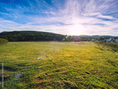 Fotobehang Purper sunrise of Donegal countryside,Ireland