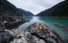 Kayak On Sawyer Island In Tracy Arm Fjord Near Juneau, Alaska