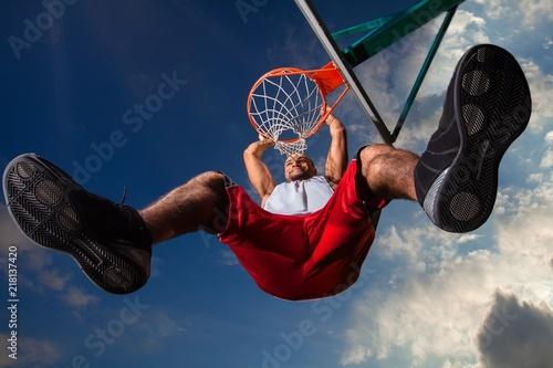 Fototapeta sport sportowa-koszykowka
