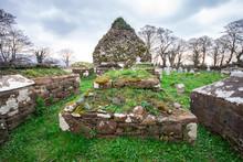 View Of Old Irish Cemetery Rui...