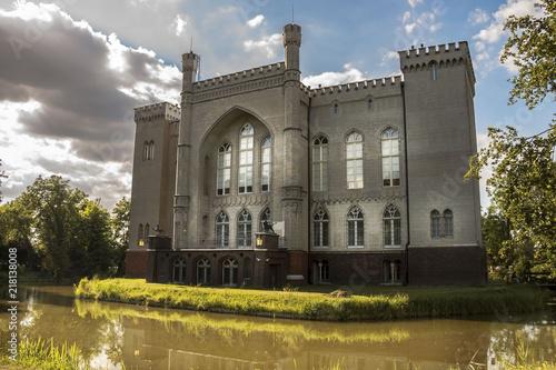 Kórnik, Wielkopolska / Poland - July 8th 2018: Castle near Poznań