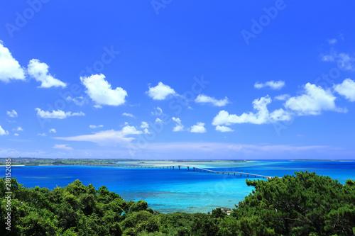 Fototapety, obrazy: 伊良部島からの眺め(牧山展望台)