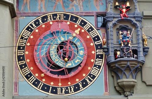 Fototapety, obrazy: Zytglogge, Astronomische Uhr, Bern