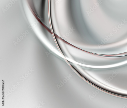 Poster Abstract wave Abstract fractal light gray background