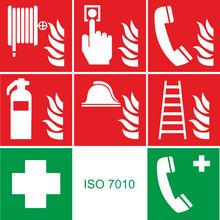 Brandschutz Piktogramme DIN EN...