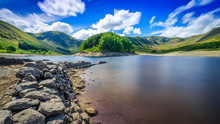 Haweswater Reservoir In The Lake District, Cumbria, England