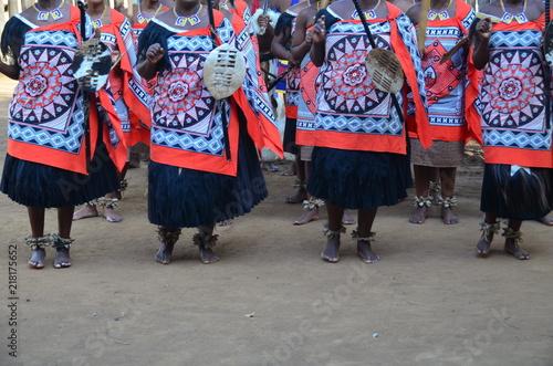 Fotografia  Danze tradizionali africane in Swaziland