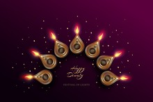 Diwali Festival Holiday Design...