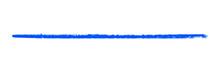 Lange Blaue Gemalte Linie