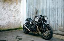 Shiny Customized Motorcycle Pa...