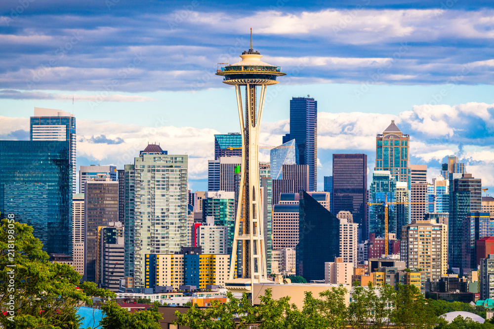 Fototapety, obrazy: Seattle, Washington, USA