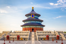 Temple Of Heaven In Beijing, C...