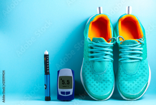 Fotomural  Concept of a healthy diabetic