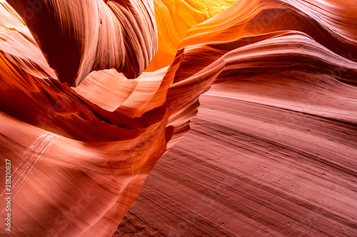 Foto op Aluminium Antilope Lower Antelope Canyon