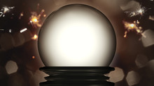 A Crystal Ball Fortune Teller