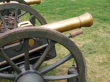 Artillery Gun Of The 19th Cent...