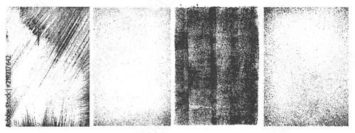 Obraz Set of grunge textures - fototapety do salonu