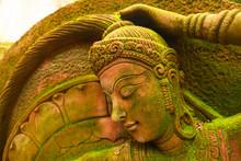 Statue Of Goddess Naked Chest ...