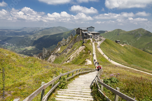 Puy de  Sancy Canvas Print