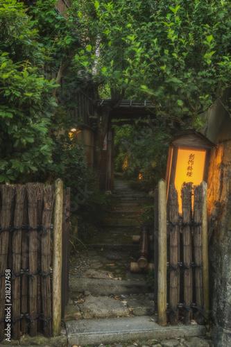 Fotografie, Obraz  京都の路地