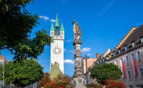 Plakat Wieża miejska Straubing / Gäubonden / Dolna Bawaria